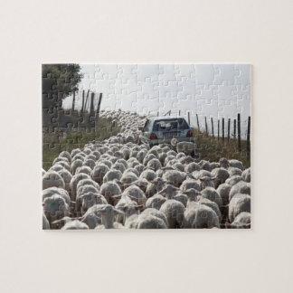 camino de las tierras de labrantío de Toscana, Rompecabeza