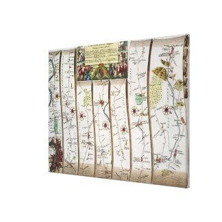 Camino de Londres a Bristol Impresión De Lienzo