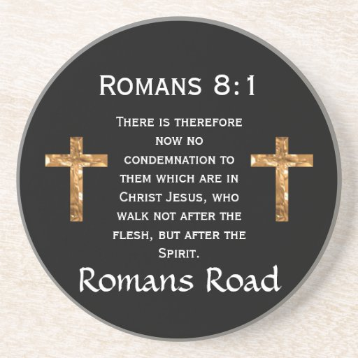 Camino de los romanos, 8:1 de los romanos posavasos diseño