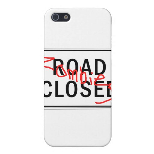 Camino de los zombis cerrado iPhone 5 carcasa