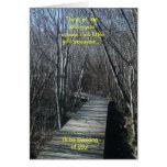 Camino de madera del paseo que pensaré en usted ta