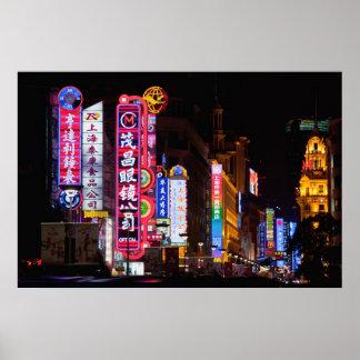 Camino de Nanjing Shangai Posters