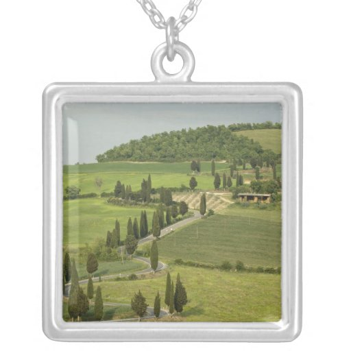 Camino de Pienza a Montepulciano, Collar Plateado