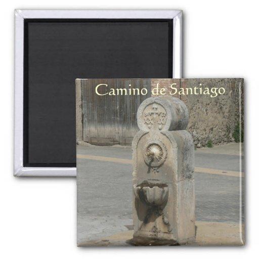 Camino de Santiago Fridge Magnet