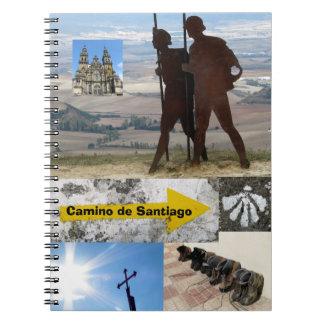 Camino de Santiago Notebook