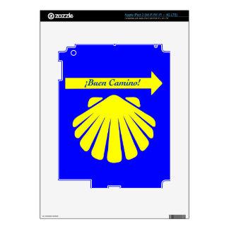 Camino de Santiago Symbols iPad 3 Decal