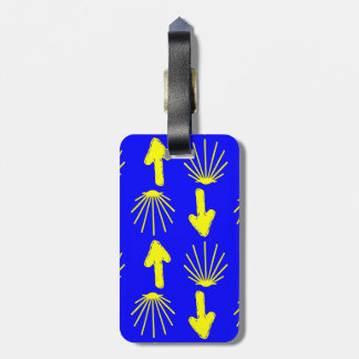 Camino de Santiago Symbols Bag Tags