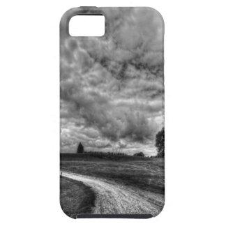 Camino de tierra del país viejo iPhone 5 fundas