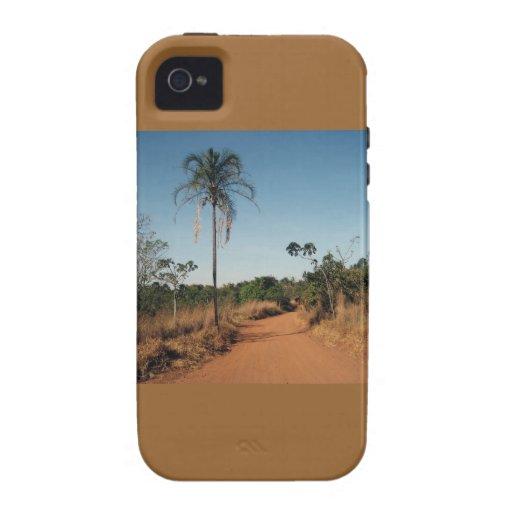 Camino de tierra iPhone 4/4S fundas