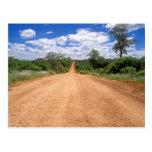 Camino de tierra, parque nacional de Kruger, Tarjeta Postal