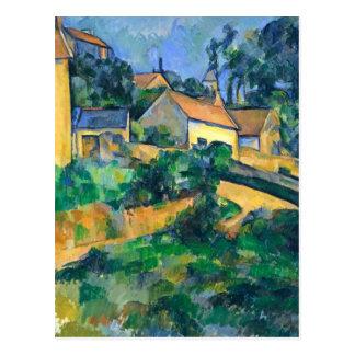 Camino de torneado en Montgeroult de Paul Cezanne Tarjeta Postal