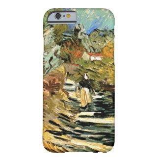 Camino de Van Gogh en el santo Remy con la figura Funda De iPhone 6 Barely There