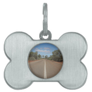 Camino del desierto placas mascota