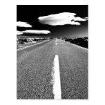 Camino del desierto postales