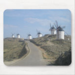 Camino del molino de viento tapete de raton