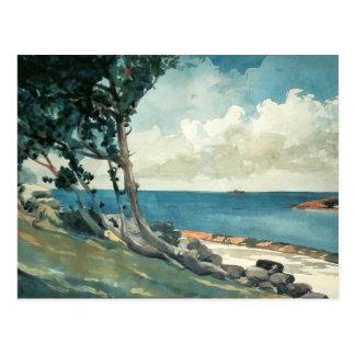 Camino del norte, Bermudas de Winslow Homer Tarjeta Postal