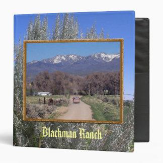 """Camino del rancho en abril carpeta 1 1/2"""""""