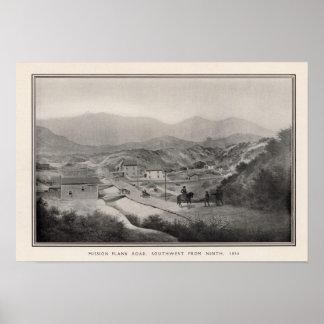 Camino del tablón de la misión, fron noveno, 1856  poster