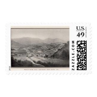 Camino del tablón de la misión, fron noveno, 1856 sello