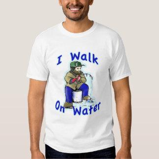Camino en el agua 2 polera