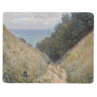 Camino en el La Cavee Pourville de Claude Monet Cuadernos