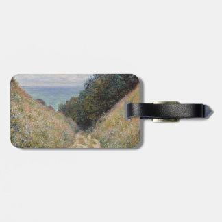 Camino en el La Cavee Pourville de Claude Monet Etiquetas Bolsas