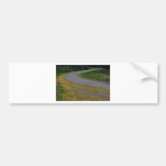 camino en el lago del lillydale pegatina para auto
