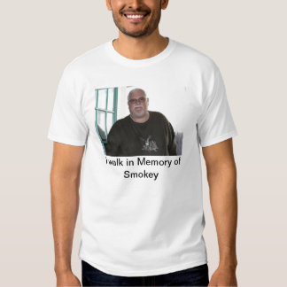 Camino en memoria de Smokey Camisas