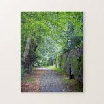 Camino en otoño puzzle con fotos