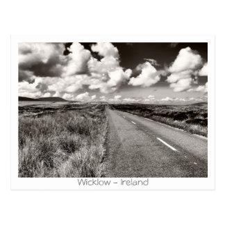 Camino en Wicklow Postales