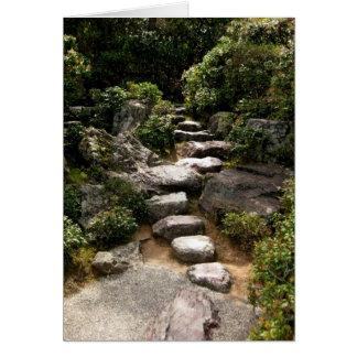 Camino-Keigo-NY de piedra Tarjeta Pequeña