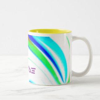 Camino ligero del arco iris, orgullo taza de café
