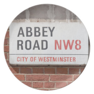 Camino Londres de la abadía Platos Para Fiestas