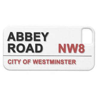 Camino Londres Inglaterra - vintage de la abadía iPhone 5 Case-Mate Cárcasa