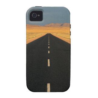 Camino nacional B4 a través del desierto, cerca de Vibe iPhone 4 Carcasas