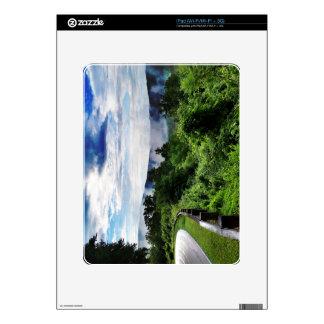 Camino Newfound de Gap Great Smoky Mountains Calcomanía Para El iPad