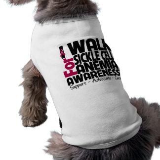 Camino para la conciencia de la anemia de la célul ropa de perro