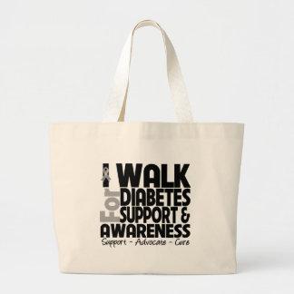 Camino para la conciencia de la diabetes bolsa