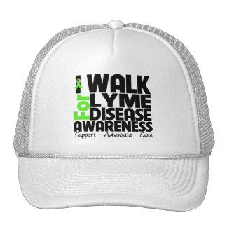 Camino para la conciencia de la enfermedad de Lyme Gorro