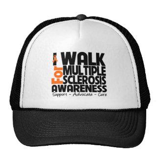 Camino para la conciencia de la esclerosis múltipl gorras