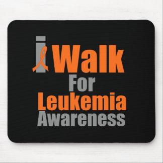Camino para la conciencia de la leucemia alfombrillas de raton