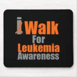 Camino para la conciencia de la leucemia alfombrilla de ratones