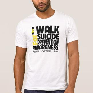 Camino para la conciencia de la prevención del remeras