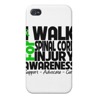 Camino para la conciencia de lesión de la médula e iPhone 4 funda