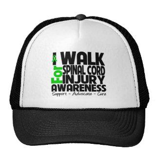 Camino para la conciencia de lesión de la médula e gorros