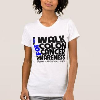 Camino para la conciencia del cáncer de colon camisas
