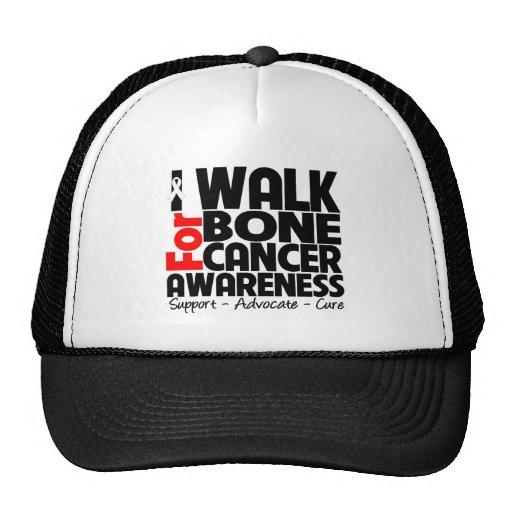 Camino para la conciencia del cáncer de hueso gorro de camionero