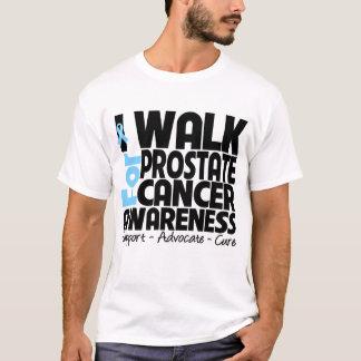 Camino para la conciencia del cáncer de próstata playera
