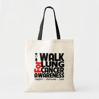 Camino para la conciencia del cáncer de pulmón bolsa