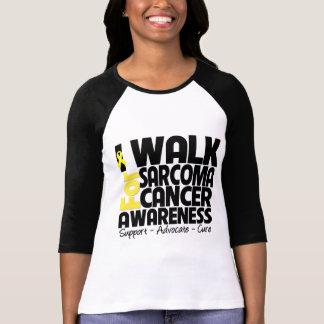 Camino para la conciencia del cáncer del sarcoma remeras